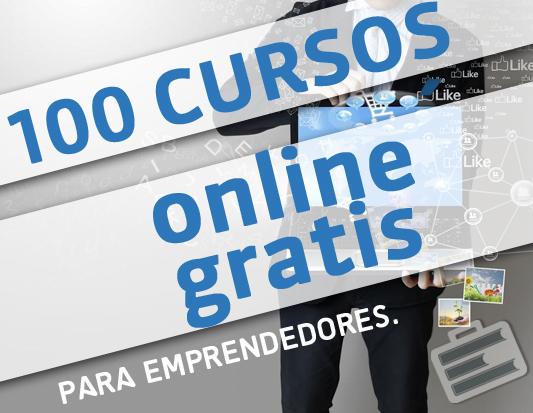 100 Cursos online gratis para emprendedores